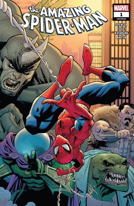 Illustration for article titled 'Amazing Spider-Man' #1 (802) is a Muddled Mess