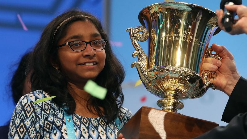 Young badass Ananya Vinay (Photo: Mark Wilson/Getty)