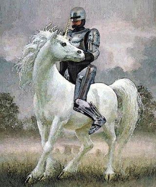 Illustration for article titled OMG Robo Unicorn!