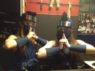 Illustration for article titled Female Ninja Serve Up Noodles Amidst Silly Complaints
