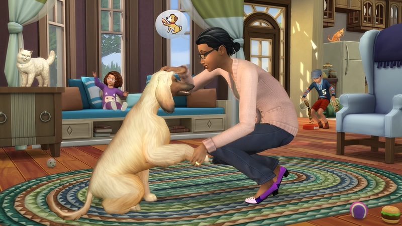 Illustration for article titled Sims 4 Finally Gets Pets