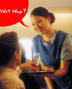 Illustration for article titled Flight Attendants Are Latest Group to Poo Poo Wireless Network Porn on Planes