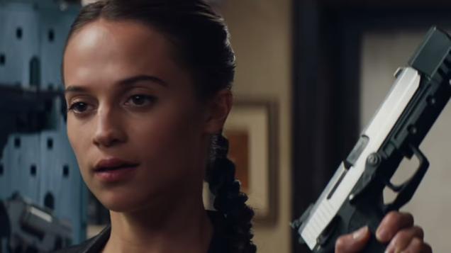 Get ready for more distended-neck posters, because a Tomb Raider sequel is coming
