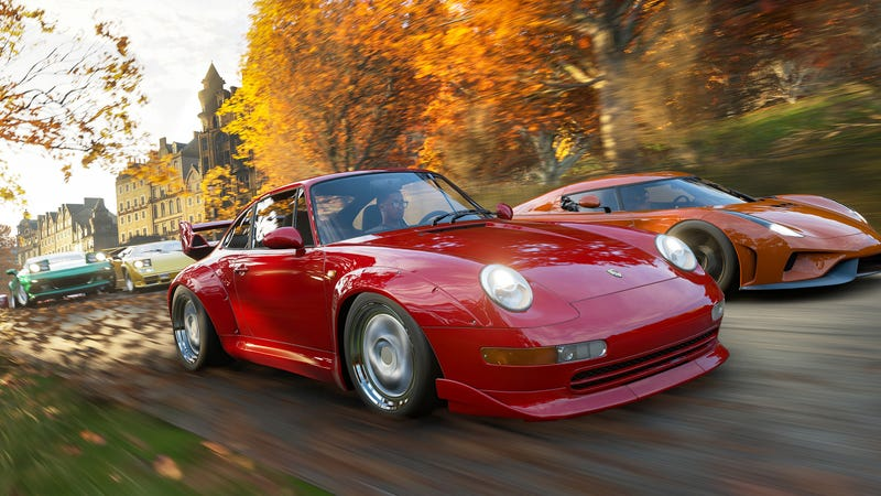 Forza Horizon 4's Apparent Car List Leaked Early