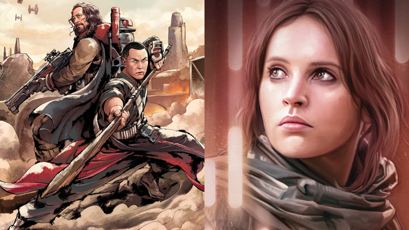 Illustration for article titled Your Rogue OneFaves Are Getting More Backstory In Two New Star WarsYA Novels