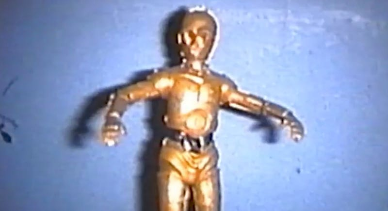 Weird C-3PO videos are just part of what you can expect in LA on May 25. Image: YouTube