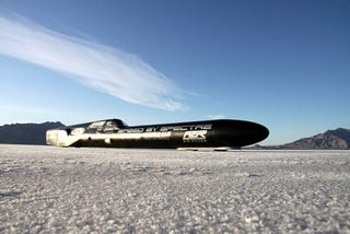 Illustration for article titled Spectre Performance Attempting 400 MPH Gas-Powered Record