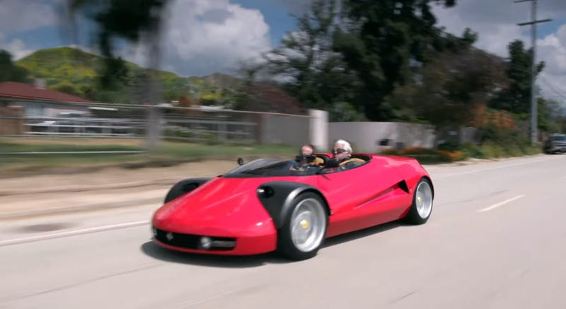 Illustration for article titled This Ferrari-Based One-Off Conciso Gets the Most Out of Being the Bare Minimum