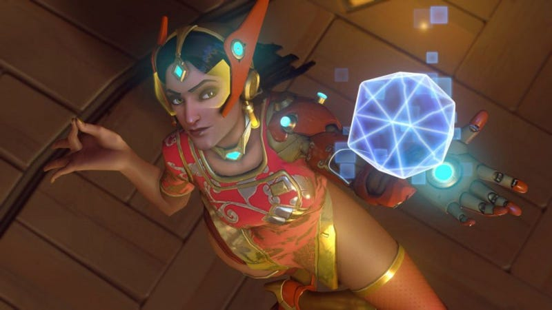 Illustration for article titled Symmetra Makes Her First Real Appearance Ever In Overwatch League