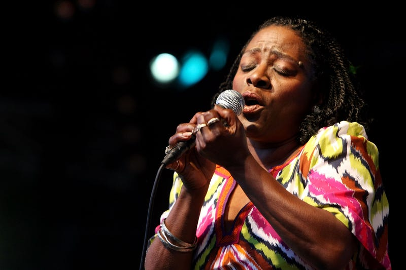 Sharon Jones performing in 2008 in Lorne, AustraliaKristian Dowling/Getty Images