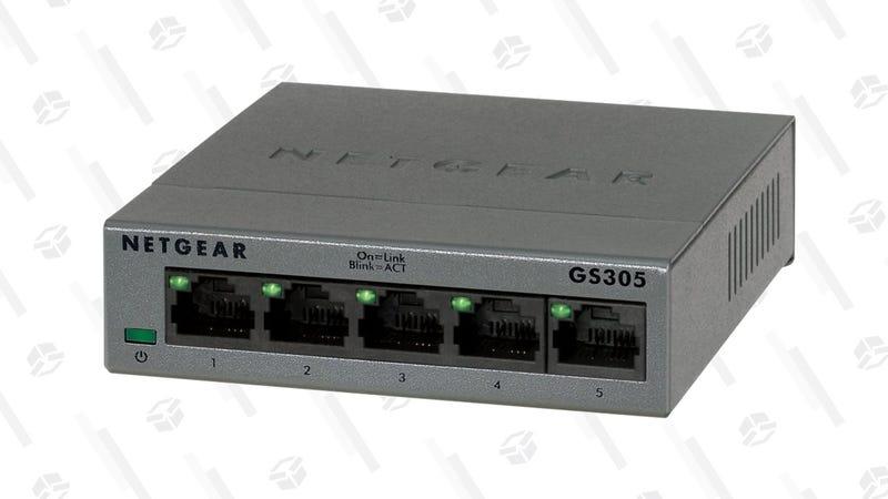 NETGEAR 5-Port Gigabit Ethernet Unmanaged Switch | $12 | Amazon | Clip the $3 coupon