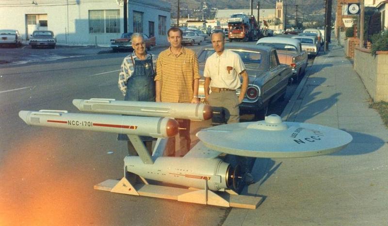 Illustration for article titled Here Are The Men Who Built Star Trek's Original Enterprise