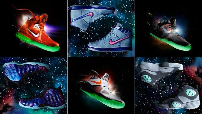 Lebron 9 Galaxy Glow In The Dark