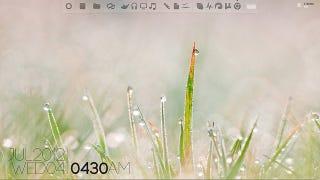 Illustration for article titled The Dewdrop Desktop