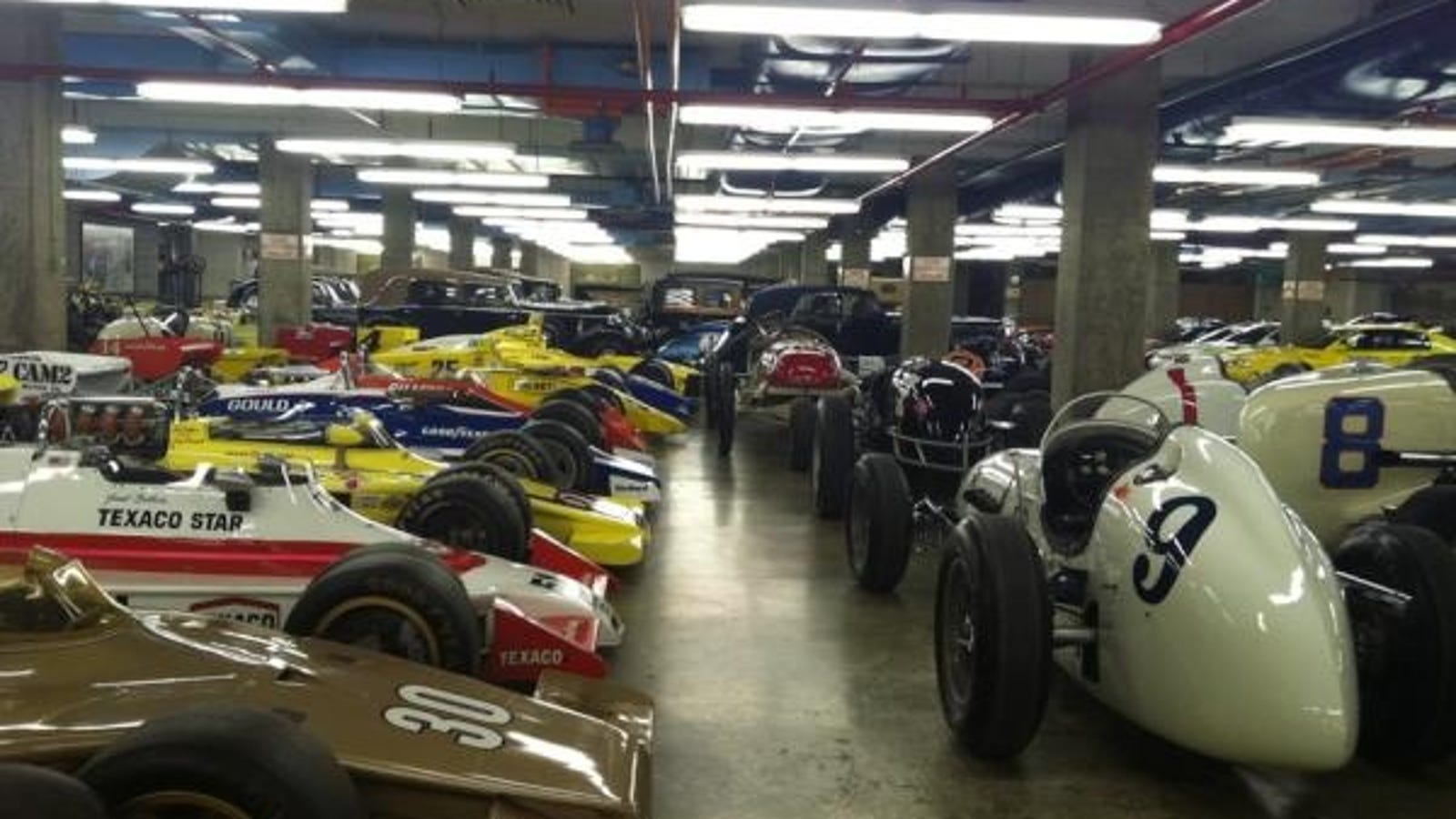 Progressive Near Me >> Indianapolis Motorspeedway Museum - The Basement