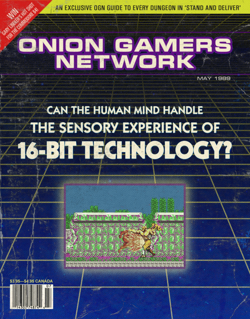 Illustration for article titled Archive From 1989: Can The Human Mind Handle The Sensory Experience Of 16-Bit Technology?
