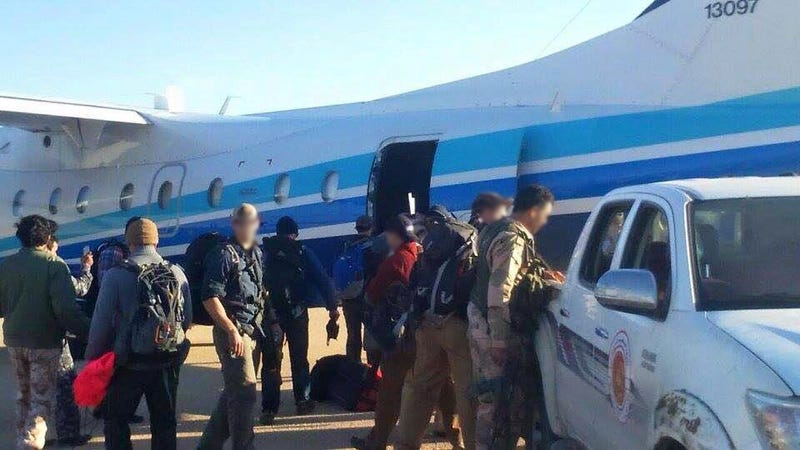 Illustration for article titled U.S. Spec Ops Mission Exposed When Pictures Appear On Libyan Air Force Social Media