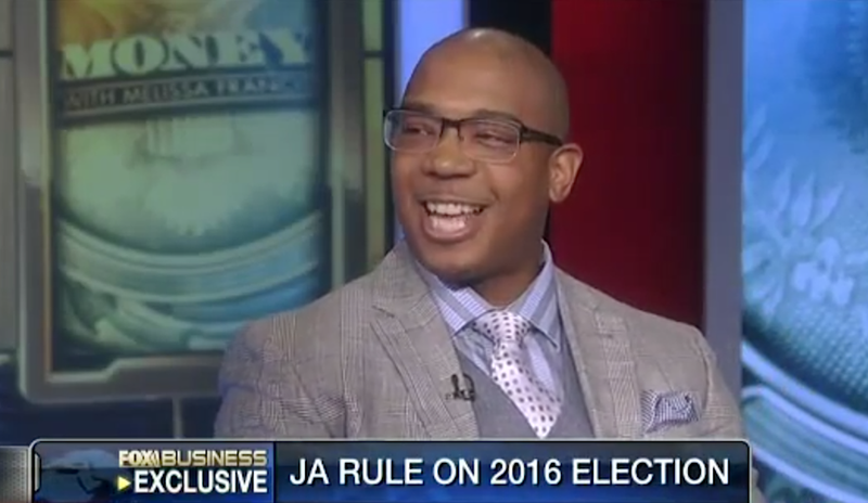 Illustration for article titled Political Pundit Ja Rule Reveals His Choice for President