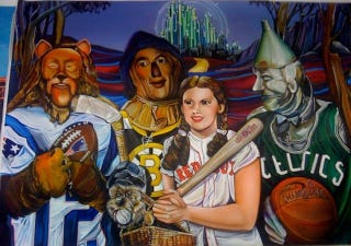 Illustration for article titled For The Person Who Always Thought The Wizard Of Oz Was Crap Without Boston Sports Teams