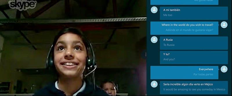 Illustration for article titled El traductor en tiempo real de Skype, ya disponible en inglés y español