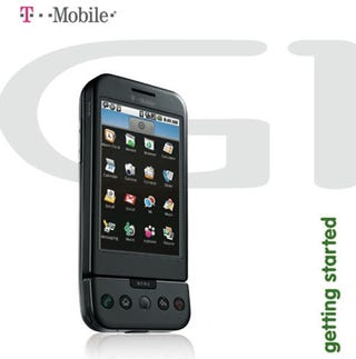 Illustration for article titled T-Mobile G1 User's Guide Leaked: 40 Shots of Scrambled UI