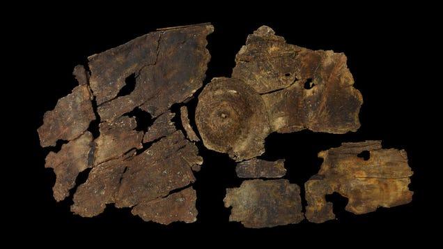 2,300-Year-Old Bark Shield