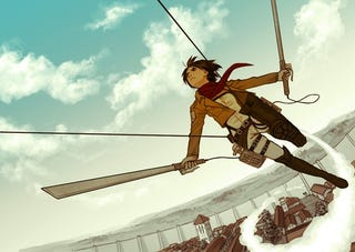Illustration for article titled Attack on Titan