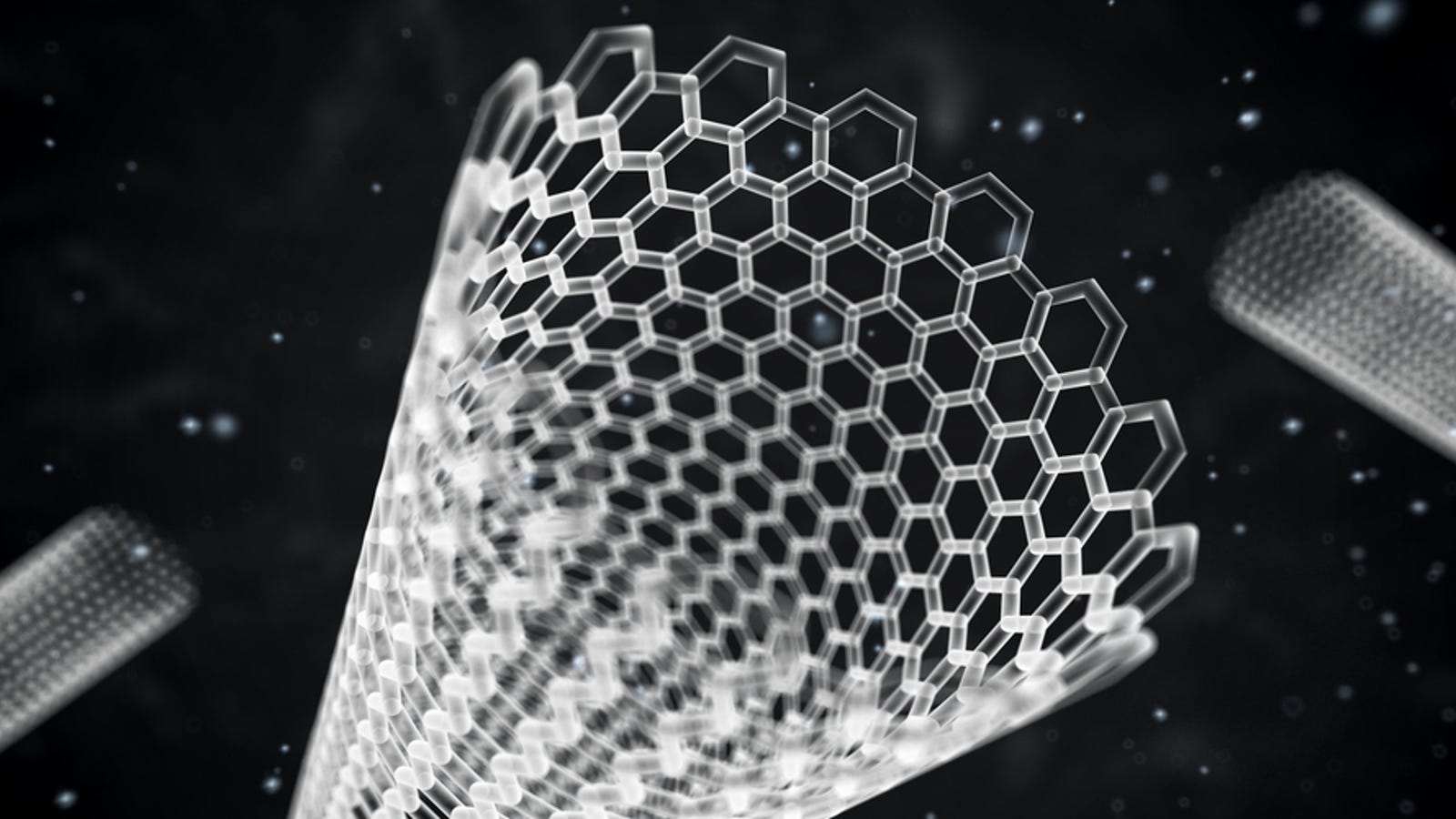 carbon nanotubes found in human lungs for the first time
