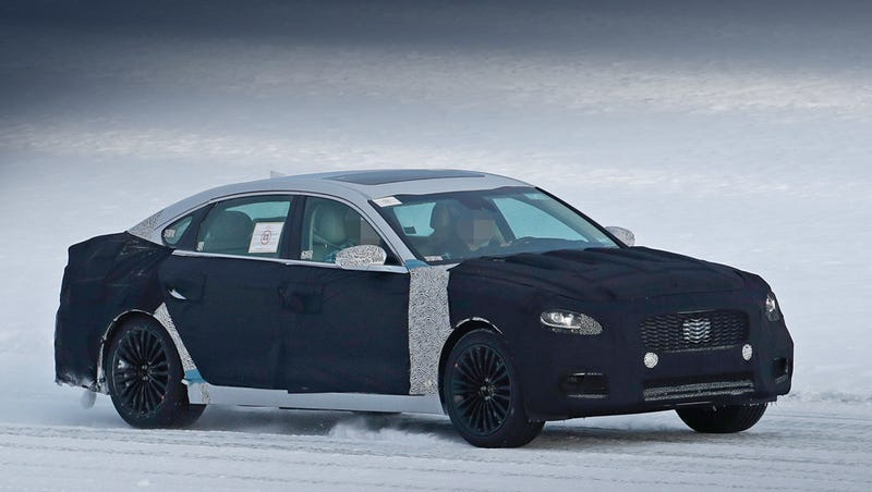 Illustration for article titled Second Generation Kia K900 Coming Next Year