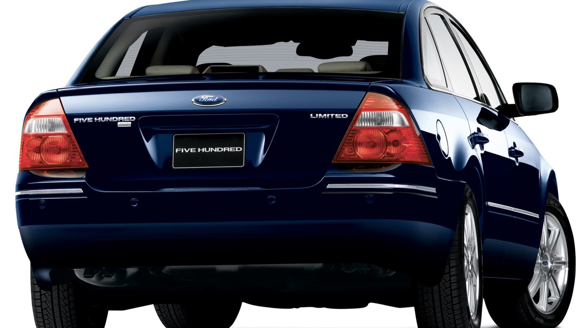 Meh car monday the fabulously forgettable ford five hundred