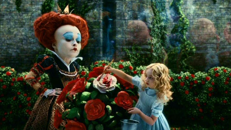 Tim Burton's Alice in Wonderland.