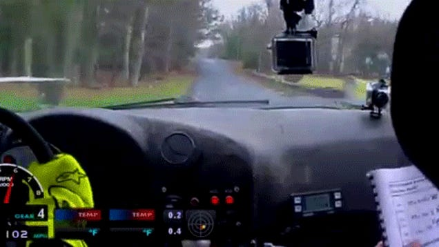 What It Looks Like To Jump A BMW M3 At 107 MPH