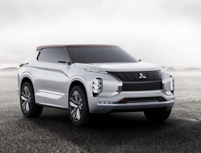 Illustration for article titled Thoughts on the Mitsubishi GT-PHEV Concept?