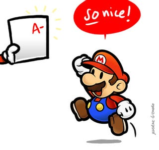 Illustration for article titled Nintendo Year-End Report Card: A-