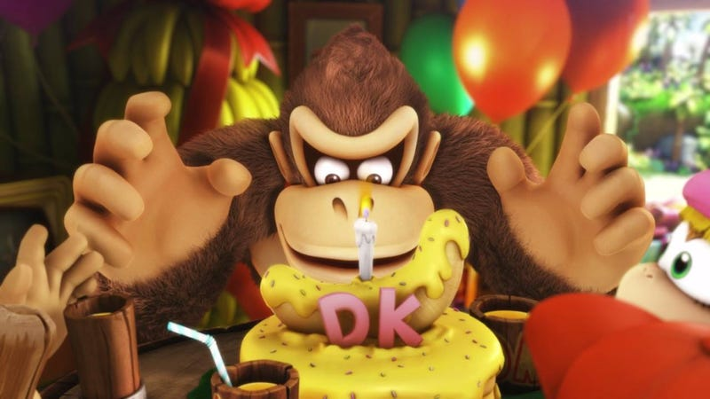 Illustration for article titled Donkey Kong Country: Tropical Freeze Is Delightfully Difficult