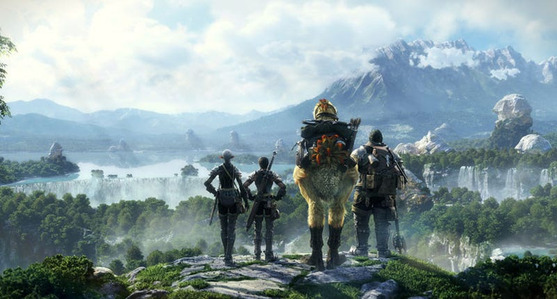 Illustration for article titled Final Fantasy XIV Online Screens Are Online