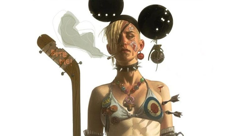 Illustration for article titled Hey There Tank Girl