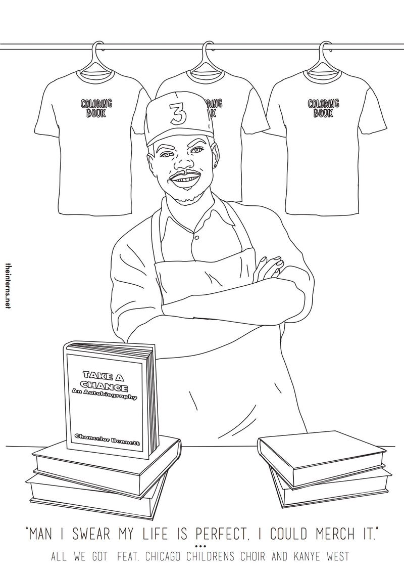 Chance The Rappers Coloring Book Now Has An Actual To Go With It