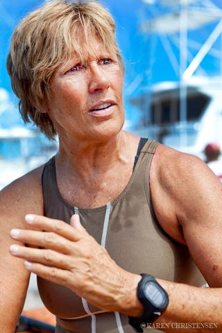 Illustration for article titled Diana Nyad made it to Key West