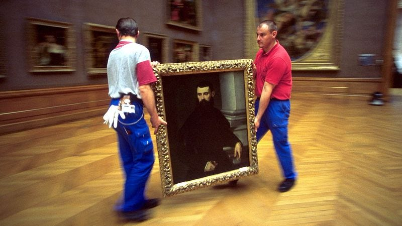 Illustration for article titled Louvre Curators Hurry To Display Ugly Van Gogh Donor Gave Them Before Surprise Visit