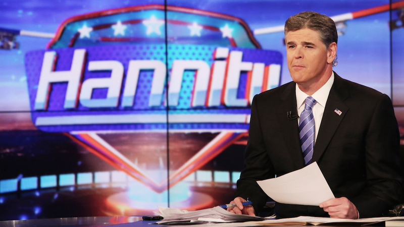 Illustration for article titled Hannity Flips His Shit After His Colleagues Name Him 'Worst of Fox'