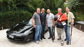 Illustration for article titled Former Boxing Champ Arthur Abraham (Illegally) Sets Berlin Speeding Record In His Ferrari