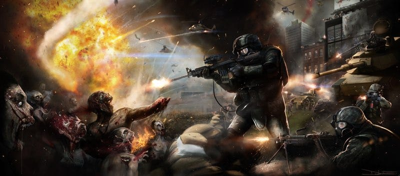 Illustration for article titled Brad Pitt's World War Z movie could die if it doesn't get cash, fast