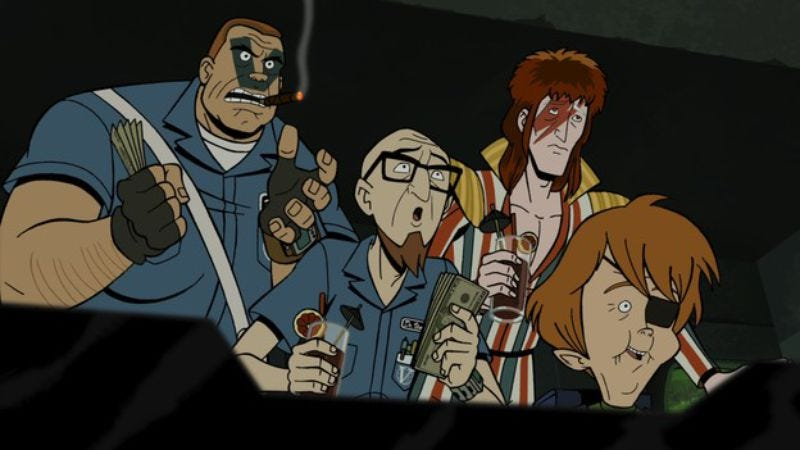 the venture bros henchman 21 summarized the whole show in eight
