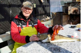 Illustration for article titled Norwegian Fisherman Finds Large Dildo in Fish