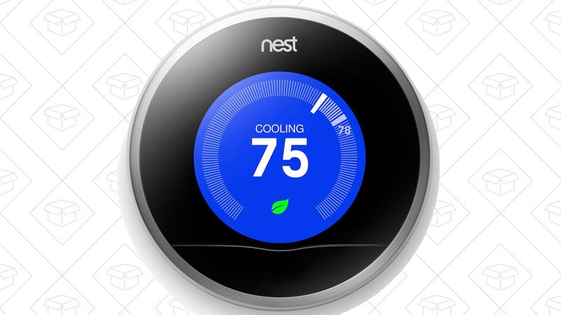 Refurb Nest Learning Thermostat (2nd Generation), $129 with code THDOCTFY1710