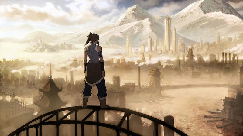 Illustration for article titled The Not-So-Legendary Legend of Korra