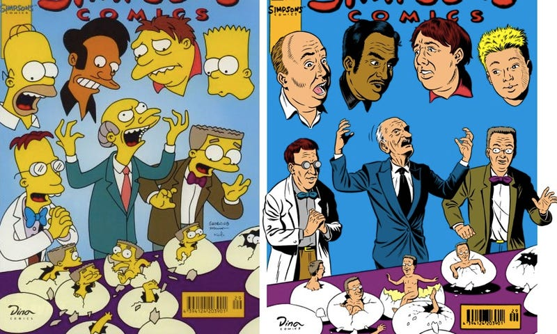 Illustration for article titled What would Mr. Burns from The Simpsons look like in real life?