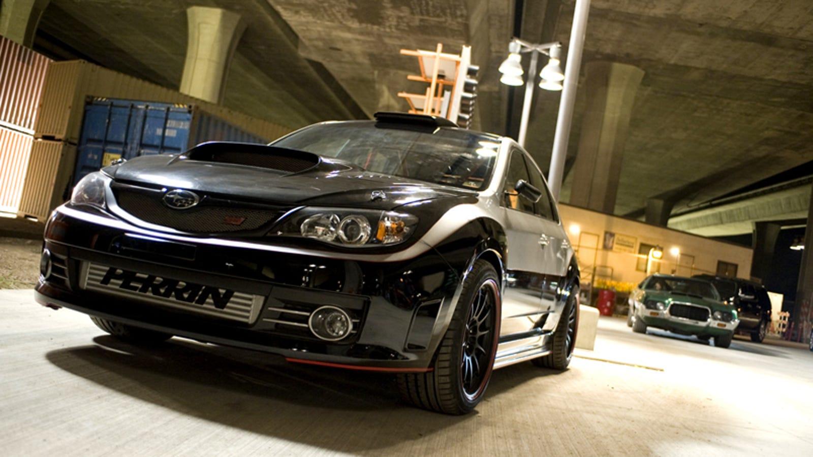 Brian O Conner S Subaru Impreza Wrx Sti