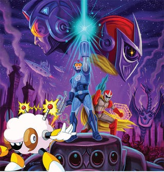 Illustration for article titled Mega Man 10 Revisits Retro, Or The Rise Of Sheep Man